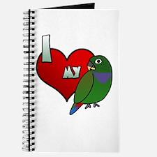 Love Maximilian Pionus Journal
