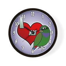 Love Maximilian Pionus Clock