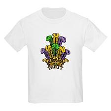 Mardi Gras Party Hat (Crown) T-Shirt