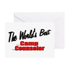 """The World's Best Camp Counselor"" Greeting Card"