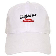 """The World's Best Camp Counselor"" Baseball Cap"