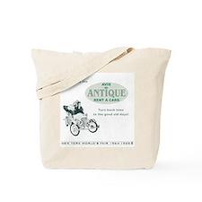 Antique Car Ride Tote Bag