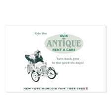 Antique Car Ride Postcards (Package of 8)