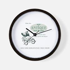 Antique Car Ride Wall Clock
