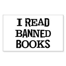I Read Books Decal
