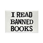 I Read Books Rectangle Magnet