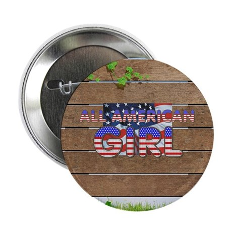 """All American Girl 2.25"""" Button (100 pack)"""