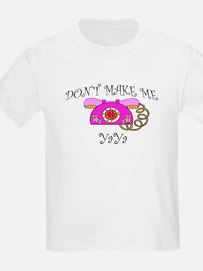 Call YaYa with Pink Phone T-Shirt
