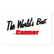 """""""The World's Best Canner"""" Postcards (Package of 8)"""