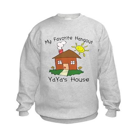 Favorite Hangout YaYa's Kids Sweatshirt