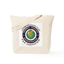 FAA Certified Airline Transport Pilot Tote Bag