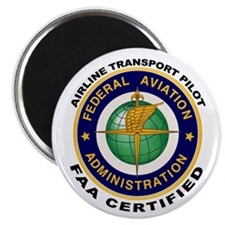 FAA Certified Airline Transport Pilot Magnet