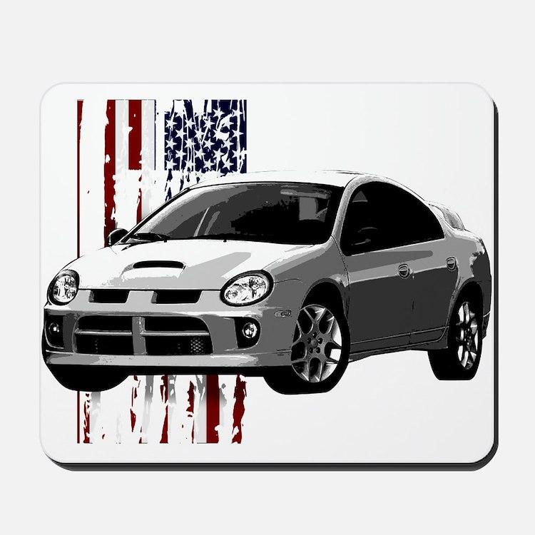 """U.S. Neon"" Mousepad"