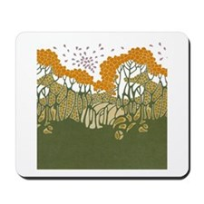 Arts and Crafts Trees Mousepad