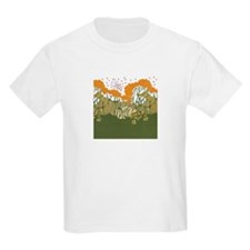 Arts and Crafts Trees T-Shirt