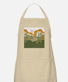 Arts and Crafts Trees BBQ Apron