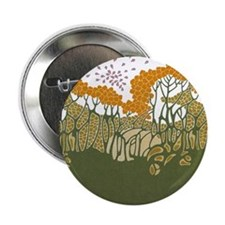 "Arts and Crafts Trees 2.25"" Button"