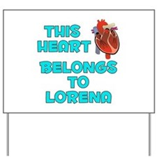 This Heart: Lorena (B) Yard Sign