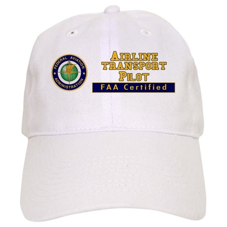 FAA Certified Airline Transport Pilot Cap