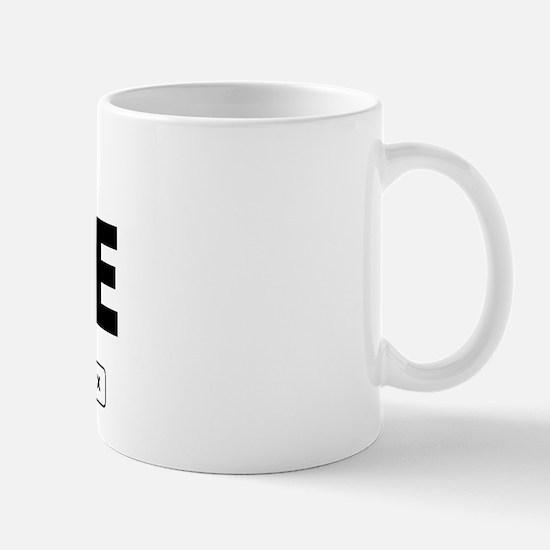 Peace Work - Dot Matrix Mug