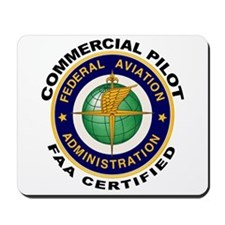 FAA Certified Commercial Pilot Mousepad