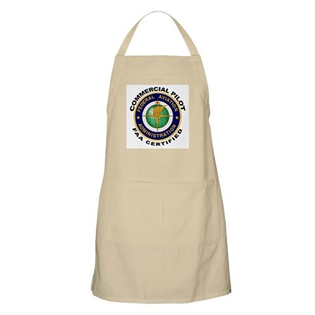 FAA Certified Commercial Pilot BBQ Apron