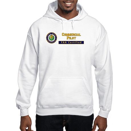 FAA Certified Commercial Pilot Hooded Sweatshirt