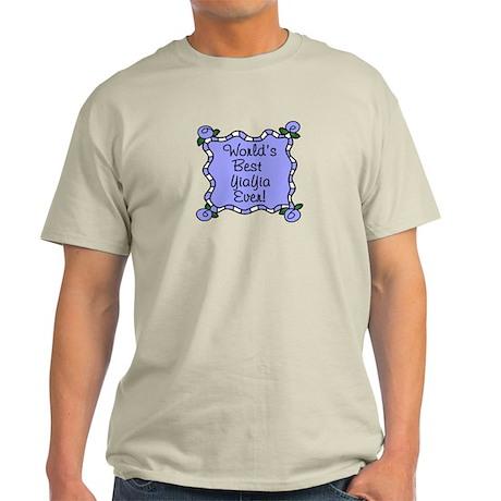 Best YiaYia Ever Light T-Shirt