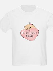Heart Belongs to YiaYia T-Shirt