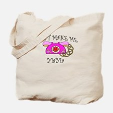 Call YiaYia with Pink Phone Tote Bag