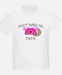 Call YiaYia with Pink Phone T-Shirt
