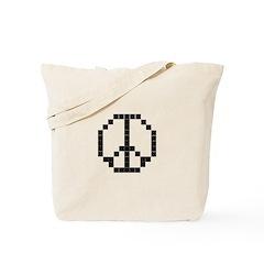 Peace Work - LCD Tote Bag