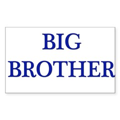 Big Brother II Rectangle Decal