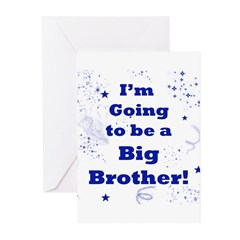 Going to be a Big brother Greeting Cards (Pk of 20