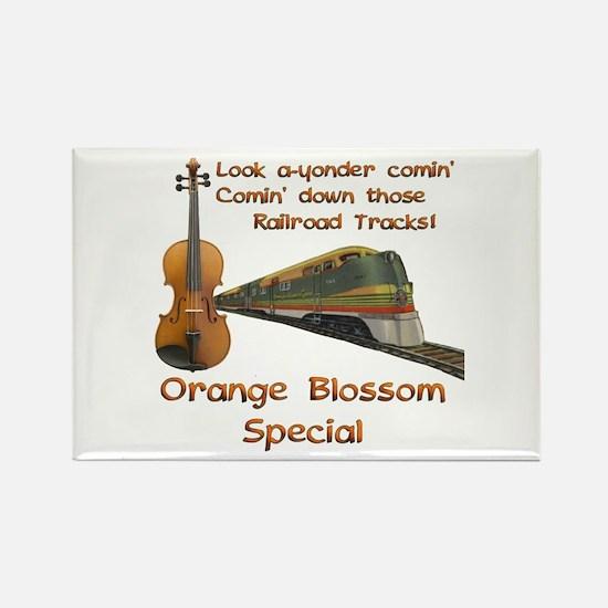Orange Blossom Special Rectangle Magnet
