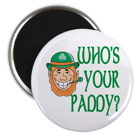 """Who's Your Paddy 2.25"""" Magnet (10 pack)"""