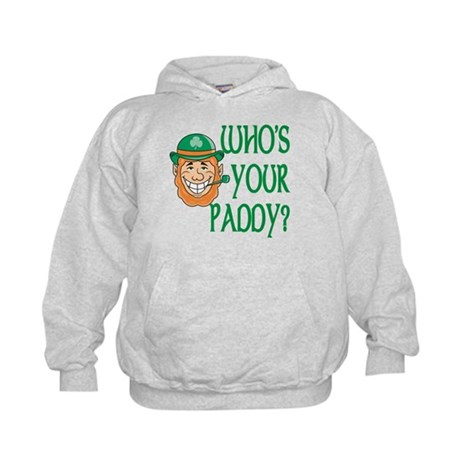 Who's Your Paddy Kids Hoodie