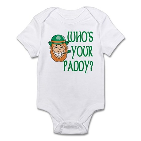 Who's Your Paddy Infant Bodysuit