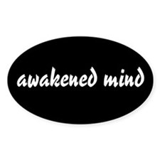 Awakened Mind Oval Decal