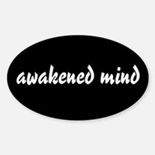 Awakened Mind Oval Decal