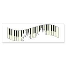 PIANO KEYS Bumper Bumper Sticker