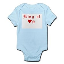 King Of Hearts Infant Bodysuit