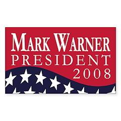 Mark Warner 2008 (bumper sticker)