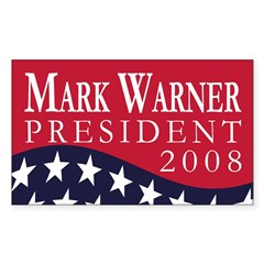 Mark Warner 2008 (bumper sticker)