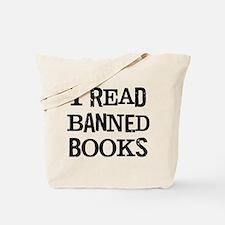 I Read Books Tote Bag