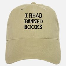 I Read Books Baseball Baseball Cap