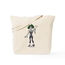 Zombie Grrl Tote Bag