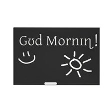 Phonetic Good Morning Rectangle Magnet