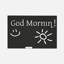 Phonetic Good Morning Rectangle Magnet (100 pack)