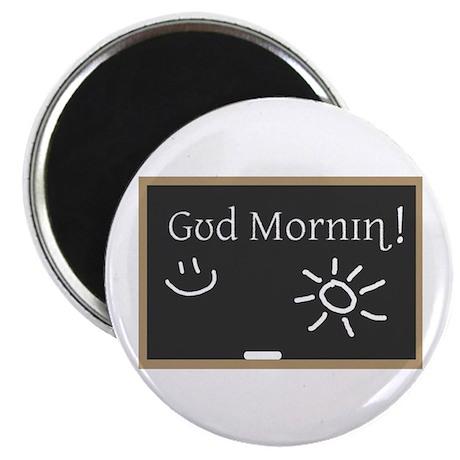 Phonetic Good Morning Magnet
